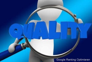google ranking optimieren