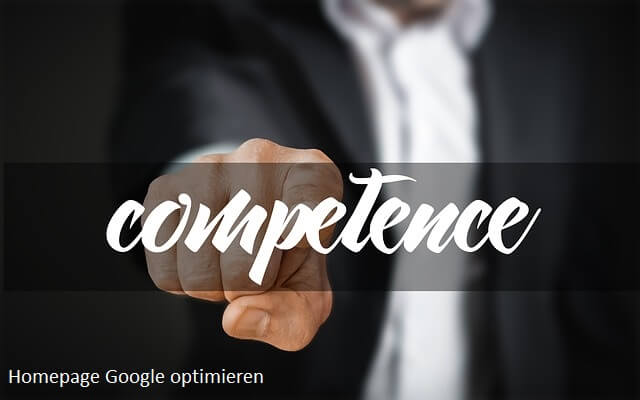 homepage google optimieren