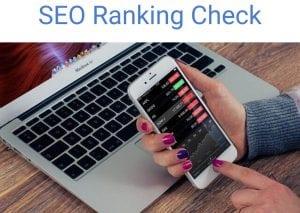 seo ranking check