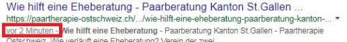 google optimierung